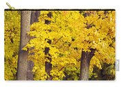 Yellow Autumn Trees Carry-all Pouch