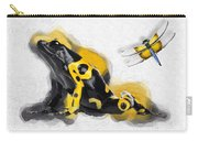 Yellow-banded Poison Dart Frog No 01 Carry-all Pouch