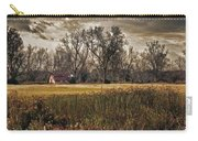 Yellow Barn And The Field Carry-all Pouch