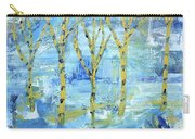 Yellow Birches Carry-all Pouch