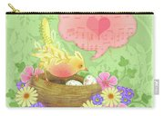 Yellow Bird's Love Song Carry-all Pouch