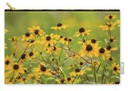Yellow Black Eyed Susan Wildflowers In Summer Carry-all Pouch