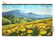 Yellow Blanket Carry-all Pouch