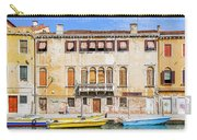 Yellow Boat - Venice Italy Carry-all Pouch