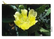 Yellow Bonnet, Cactus Carry-all Pouch