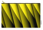 Yellow Borders Carry-all Pouch