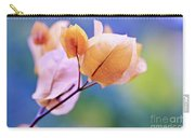 Yellow Bougainvillea Carry-all Pouch