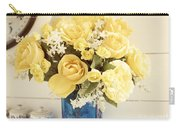 Yellow Bouquet Of Flowers Carry-all Pouch