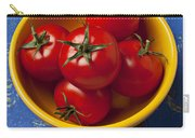 Yellow Bowl Of Tomatoes  Carry-all Pouch