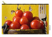 Yellow Bucket With Tomatoes Carry-all Pouch