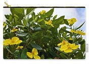 Yellow Poppy Bush Flowers At Pilgrim Place In Claremont-california Carry-all Pouch