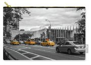 Yellow Cabs By The United Nations, New York 2 Carry-all Pouch