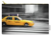 Yellow Cabs In New York 6 Carry-all Pouch