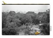 Yellow Cabs Near Central Park, New York Carry-all Pouch