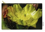 Yellow Cactus Blossom Carry-all Pouch