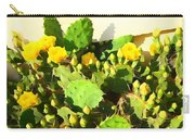 Yellow Cactus Blossoms 594 Carry-all Pouch