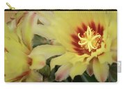 Yellow Cactus Plant Flower Carry-all Pouch