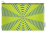 Yellow Cactus Spines Abstract Carry-all Pouch