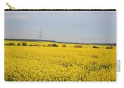 Yellow Canola Field Carry-all Pouch