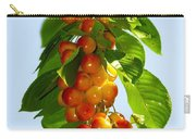 Yellow Cherries Carry-all Pouch