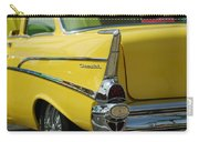 Yellow Chevrolet Tail Fin Carry-all Pouch