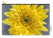 Yellow Chrysanthemum Flower Carry-all Pouch