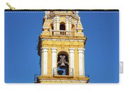 Yellow Church And Blue Sky Carry-all Pouch