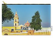 Yellow Church In Cholula, Mexico Carry-all Pouch