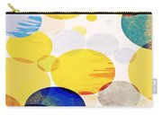 Yellow Circles Carry-all Pouch