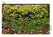 Yellow Coleus And Lantana At Pilgrim Place In Claremont-california Carry-all Pouch