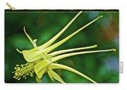 Yellow Columbine In Huntington Gardens In San Marino-california Carry-all Pouch