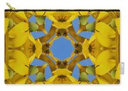 Yellow Coneflower Kaleidoscope Carry-all Pouch