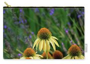 Yellow Coneflowers And Lavender 1633 H_2 Carry-all Pouch