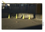 Yellow Cones Carry-all Pouch