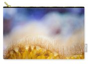 Yellow Coral Reef Macro Carry-all Pouch