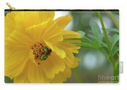 Yellow Cosmos Flower Carry-all Pouch