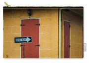 Yellow Cottage French Quarter- Nola Carry-all Pouch