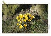 Yellow Crocus 1 Carry-all Pouch