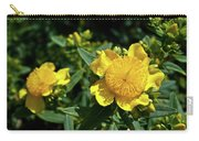 Yellow Crown Flower Carry-all Pouch