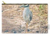 Yellow Crowned Night Heron Along The Tidal Creek Carry-all Pouch