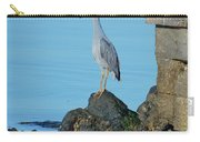 Yellow Crowned Night Heron Rocking It Out Carry-all Pouch