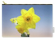 Yellow Daffodil On Canvas Carry-all Pouch