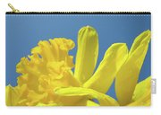 Yellow Daffodils Flowers Art Blue Sky Spring Baslee Troutman Carry-all Pouch