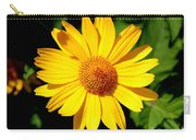 Yellow Daisey Carry-all Pouch