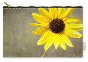 Yellow Daisy By Darrell Hutto Carry-all Pouch