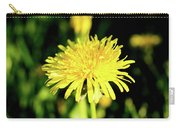 Yellow Dandelion Flower Carry-all Pouch