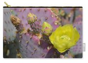 Yellow Desert Bloom Carry-all Pouch