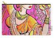 Yellow Devi Carry-all Pouch