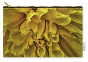 Yellow Dinner Plate Dahlia Carry-all Pouch