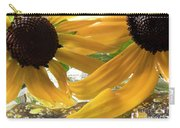 Yellow Droplet Petals Carry-all Pouch